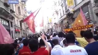 Taksim Gezi Parkı'nda ultrAslan'ın Tepkisi!